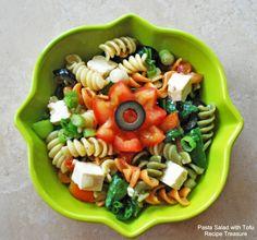 Pasta Salad with Tofu