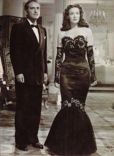 Maria Felix with Arturo De Cordova