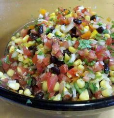 Cowboy caviar - this stuff is so good I hate taking it I parties because I want it for myself -A