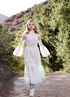 Chloë Grace Moretz - Tesh Photoshoot for Marie Claire February 2016