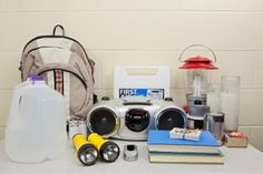 Disaster supply kits for older adults