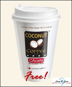 Get a free coconut coffee sample!