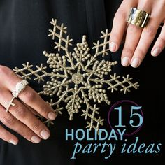 Make your next get-together merry & bright with holiday party ideas from #Silpada.