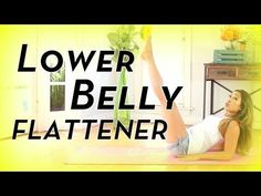 Lower Belly Flattener | POP Pilates - YouTube. This video's only about 10 minutes long. A great quick exercise to do first thing in the morning or right before hopping in the shower!