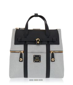 Jetsetter Convertible Canvas Backpack | New Arrivals | Henri Bendel