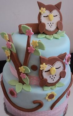 If I get pregnant again, ever, this better be my baby shower cake.