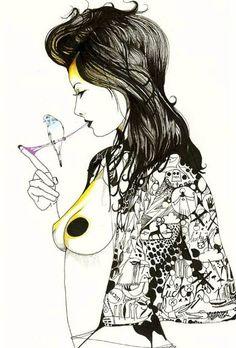 David Bray #DavidBray #Illustrations #Fashion