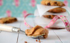 Cookies de mantequilla de cacahuete, caramelo y chocolate