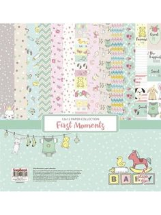 First Moments Paper Set 12x12 Inch