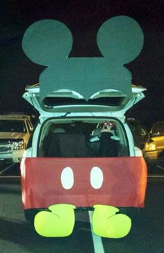Mickey Mouse Trunk or Treat