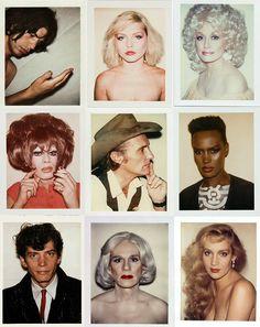 Andy Warhol's extraordinary polaroids
