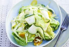 Fresh and crisp, this salad combines tangy fennel with zesty orange and crunchy zucchini - dress at the very last minute before serving.