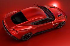Aston Martin Vanquish Zagato - rear quarter overhead