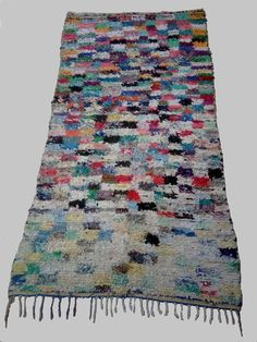 Large vintage Moroccan rug woven by hand from by MoroccanTribal, $360.00