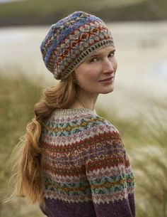 SHETLAND is a collection of 12 Fair Isle handknit designs for women by Marie Wallin using Jamieson's of Shetland Spindrift Punto Fair Isle, Motif Fair Isle, Fair Isle Pattern, Fair Isle Knitting Patterns, Knit Patterns, Stitch Patterns, Fair Isle Pullover, Shetland Wool, Fair Isles