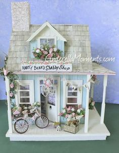 Hart and Bear's Shabby Shop - Made entirely by hand by Caroline Dupuis and Lizzie