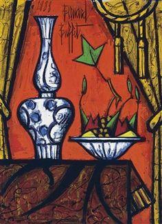 Porcelaines de chine By Bernard Buffet ,1988