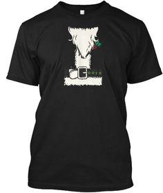 Santa Suit Black T-Shirt Front