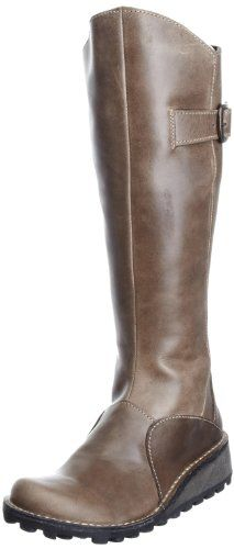 Fly London Women's Mol Casual Patent Boots:Amazon:Shoes & Accessories