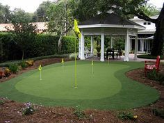 on pinterest landscaping deserts and backyard putting green