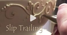 7 slip trailing videos to provide inspiration and explore the range of possibilities of this pottery technique. Give slip trailing a try today!