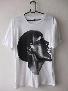 Grace Jones Wave Disco Fashion Pop Rock T Shirt M 69901