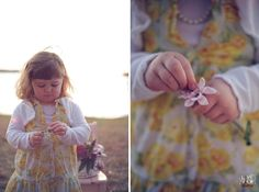 picking petals #child #photography
