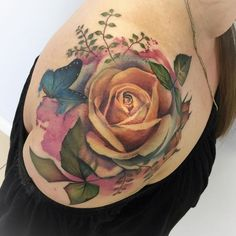 Finished lovely Kate's rose today. #eternalink #barberdts #eternalproteam