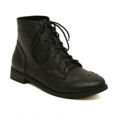 $15.93 Stylish Women's Short Boots With Vintage Carving and Flat Heel Design