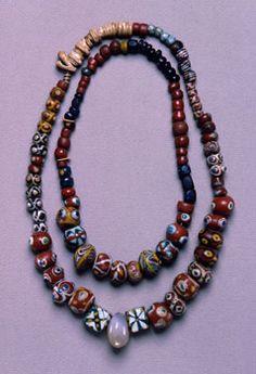 Beads / Viking age / Finnish/ Vöyri