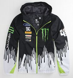 DC Shoes Ken Block Monster Driving Jacket