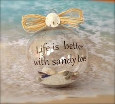 Beach Ornament Nautical Christmas Ornament by SimplySeasonals, $12.00