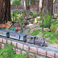 Garden Trains Garden Railroads Garden Railways Grzan 01 038
