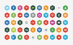 16 Best Free Social Media Icon Sets