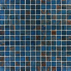 MS International Blue Iridescent Glass 12 in. x 12 in. x 4 mm Glass Mesh-Mounted Mosaic Tile-SMOT-GLS-IBL4MM - The Home Depot