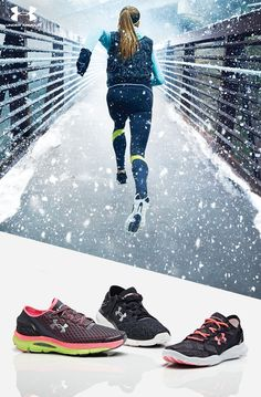 Under Armour Women's Running Shoes. The perfect gift for the runner in your life. We have the right gear to make her better, whether she's running fast, long or strong. From the UA SpeedForm Apollo to the UA SpeedForm Gemini, whatever she wears she'll be unstoppable in them.