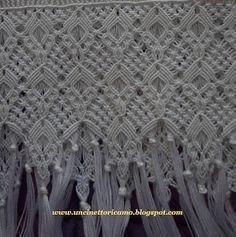 Crochet & Bordados: toalhas de macramê