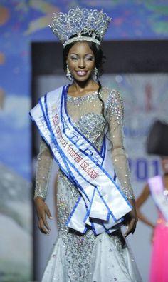 Adorya Baly - Miss British Virgin Islands 2015 (Miss BVI)