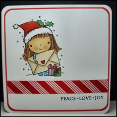 Handmade Christmas Cards by MasonJarCards on Etsy Penny Black From Mimi