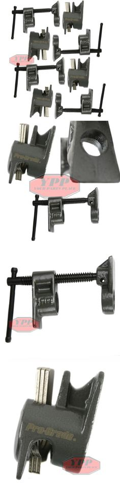 Clamps and Vises 20761: 4 Pc 1 2 Wood Gluing Pipe Clamp Quick Release Heavy Duty Wide Base Woodworking -> BUY IT NOW ONLY: $42.95 on eBay!