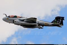 Prowler with Darth Vader on the tail. Got to love Navy CAG birds!
