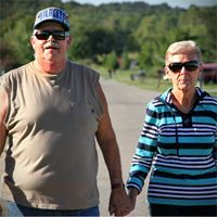 Leslie McGuire had central sleep apnea, a frightening disorder where the brain sometimes fails to send the body the signal to breathe. Luckily, he's one of the first Americans to receive a new implant -- a sort of pacemaker for his brain.