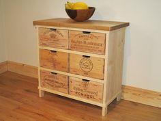 Chêne de stockage commode / armoire faite avec du par BoisRustique