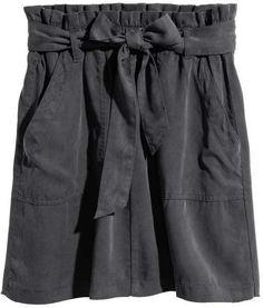 H&M Skirt with Tie Belt
