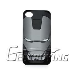 Comic book fans need to protect their iPhone 4 just like anybody else, they just have some cooler case choices. Like this Avengers IRON MAN MARK VII Iphone 4G / 4S CASE. It looks super geeky and awesome.  $15.86  http://www.geekbuying.com/item/Marvel-The-Avengers-IRON-MAN-MARK-VII-Iphone-4G---4S-CASE-Black-305053.html