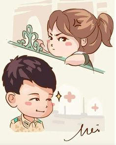 """Descendants Of The Sun"" Fanart Songsong Couple, Anime Love Couple, Desendents Of The Sun, W Kdrama, Descendants Of The Sun Wallpaper, Baek Seung Jo, Korean Drama Funny, 22 November, Fanart"