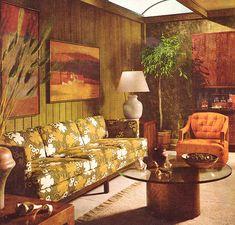 Retro Living Room 1968