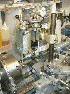 Lathe milling spindle, could do barrel flutes, or dovetails all on the lathe.