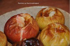 Pommes au four à la crème de Salidou- Cooking Out Creme, Plum, Food, Apple Juice, Fruits And Vegetables, Baked Apples, Pot De Creme, Essen, Yemek