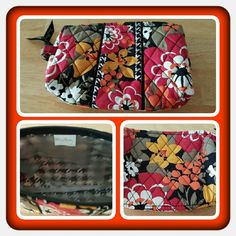 ❤ Vera Bradley Small Cosmetic Bag ❤ Like New Vera Bradley Small Cosmetic Bag In Retired Rare Bittersweet Pattern. This Was Only Used By Me A Few Times. Excellent Condition  TRADES  PAYPAL  NO LOWBALLING ❤ Vera Bradley Bags Cosmetic Bags & Cases